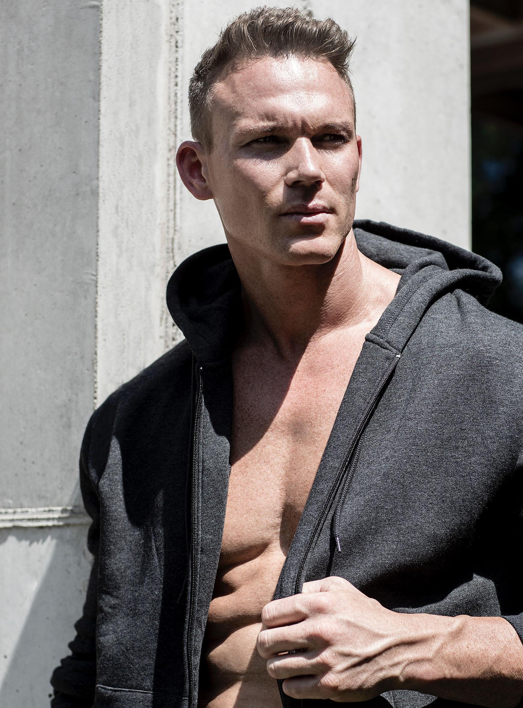 Shawn Kraft in hoodie